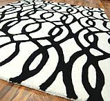 Купити килими з вовни чорно білого кольору, фото 3