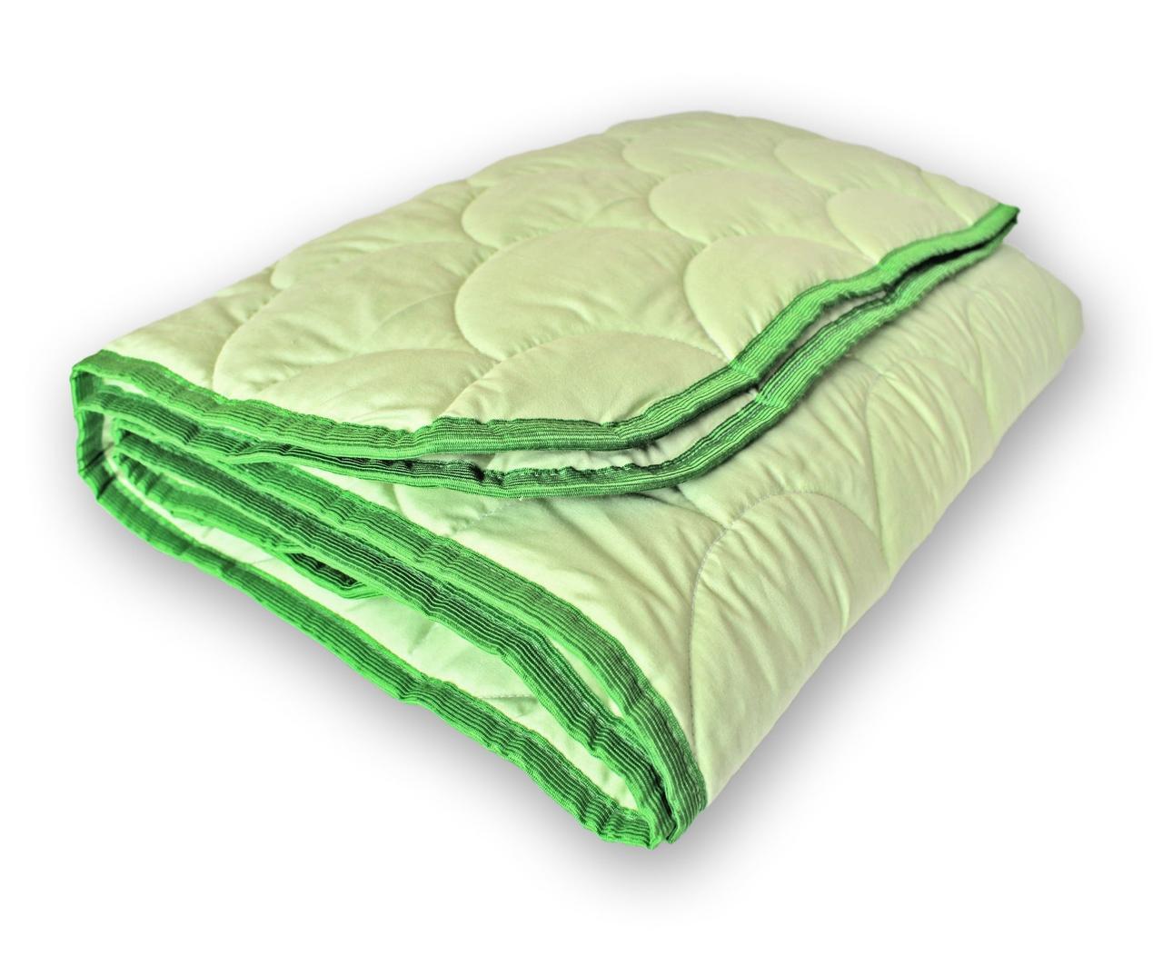 Одеяло полуторное QSLEEP 4 сезона 140*205 см зеленый