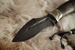"""Нож ручной работы, нож-антитеррор """"Воин1"""", дамасск, фото 3"""