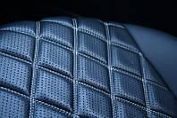 Чехлы на сиденья Чери Амулет (Chery Amulet) (модельные, 3D-ромб, отдельный подголовник) Черный