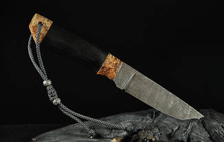 """Охотничий нож ручной работы из дамасска """"Хантер"""", фото 2"""