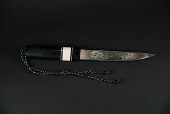 Нож ручной работы якутского типа №5, фото 2
