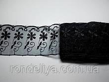 Кружево черное 6,5 см