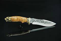 """Нож подарочный, ручная работа """"Тигр"""", 40Х13, фото 2"""