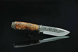 "Нож для охоты ручной работы ""Крепыш-1"", 40Х13, фото 2"
