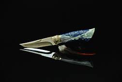 """Нож ручной работы """"Перо"""", N690, фото 3"""