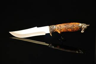 """Подарочный нож ручной работы """"Конь"""", 40Х13, фото 2"""