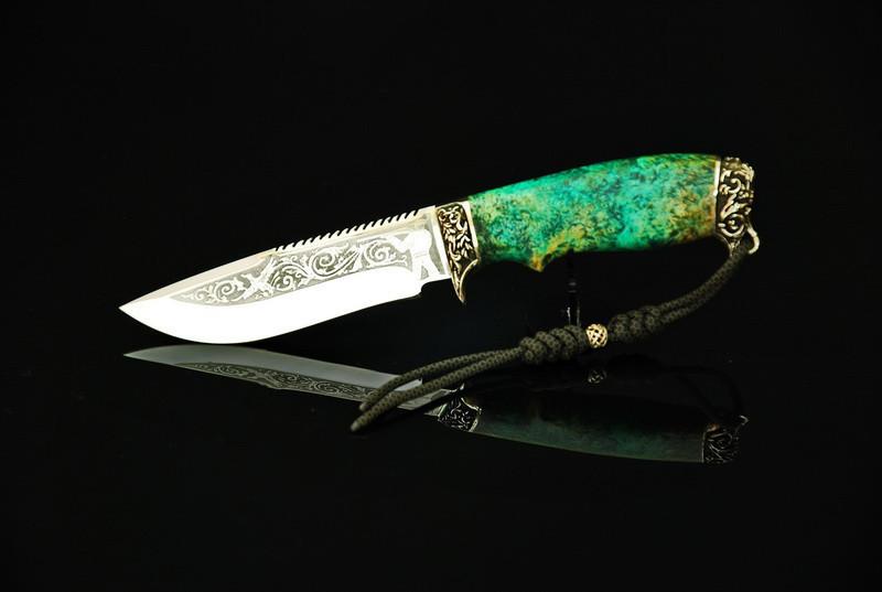 "Оригинальный нож для туризма ""Весенний"", 40Х13"