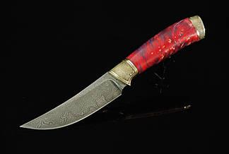 """Нож для охоты ручной работы """"Далиль-2"""", дамасск, фото 2"""