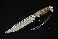 """Нож ручной работы """"Боец"""", дамасск"""
