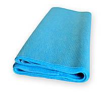 Пеленка (салфетка) QSLEEP влагостойкая 48х88см голубая (10шт/уп)