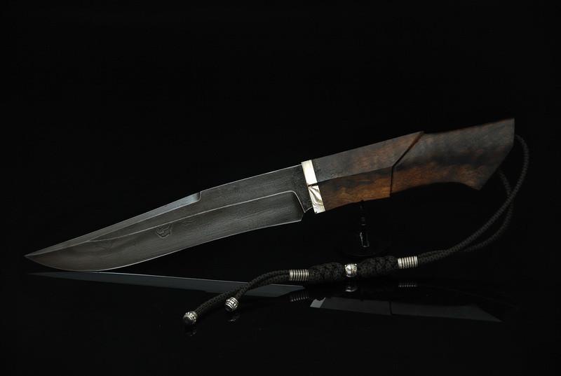 """Охотничий нож ручного изготовления """"Бунтарь"""", У10"""