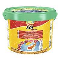 Корм для прудовых рыб Tetra Pond Koi Sticks 10 л /1,5 кг плав. гранулы для карпов  Кои