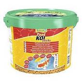 Корм для прудовых рыб Tetra Pond Koi Sticks 10 л /1,5 кг / плавающие гранулы для карпов  Кои