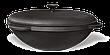 Казан чугунный татарский 12л с чугунной крышкой, d 400мм, фото 3