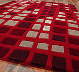 Килим з червоним кольором килими, фото 2