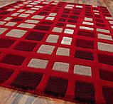 Ковер с  красным цветом ковры, фото 2