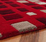 Килим з червоним кольором килими, фото 3