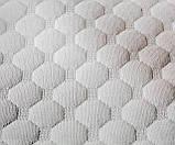 Чехол съемный для матраса QSLEEP, стрейчевый жаккард нестеганный, 60*120см, белый (015), фото 3