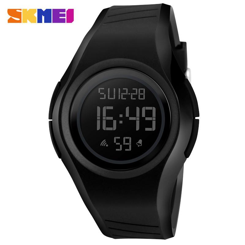 Skmei 1269 punto черные мужские спортивные часы