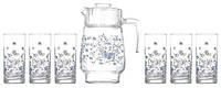 ✅ Набор для воды Arcopal Romantique N3217 (кувш. 1,6л,стак. 270мл-6шт)