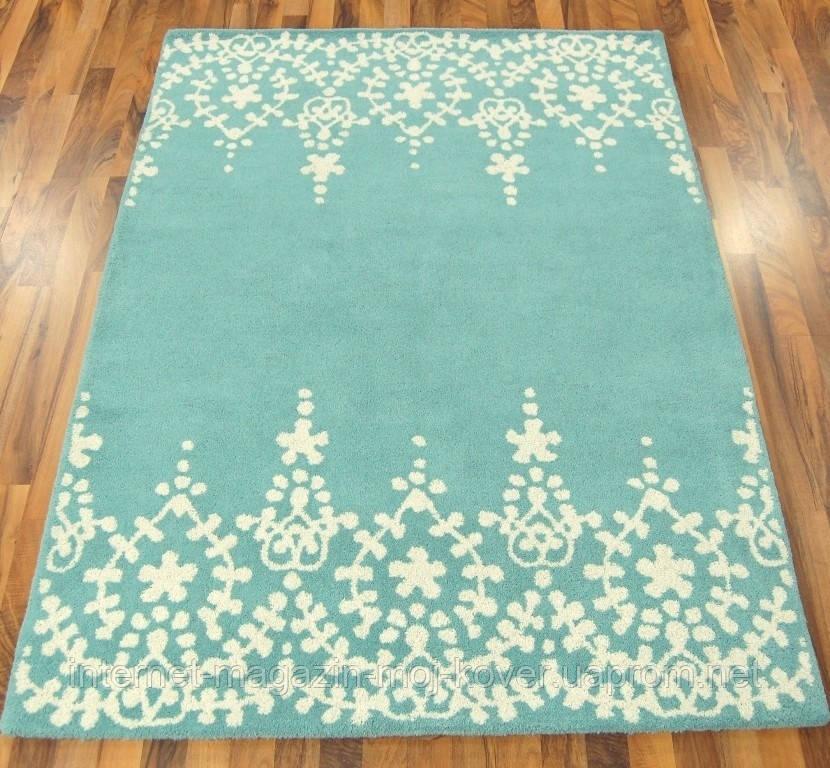 Плетеные ковры из натуральных материалов