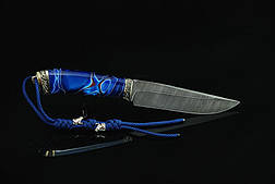 """Нож для охоты из дамасска """"Стихия"""", фото 2"""