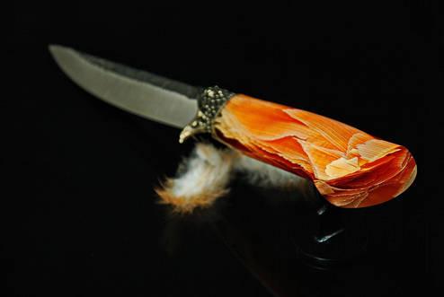 Якутский нож №14, на выбор N690, М390 (наличие уточняйте), фото 2