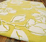 Жовтий килим в сучасну квартиру, фото 3