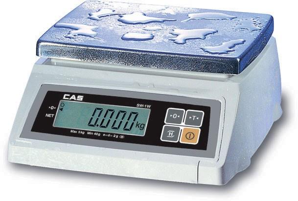 Весы настольные CAS SW-W (пыле-влагозащита)