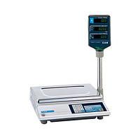 Торговые электронные весы CAS АР-М 15 со стойкой