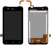 Дисплей HTC Desire 210 Dual Sim с тачскрином черный Оригинал