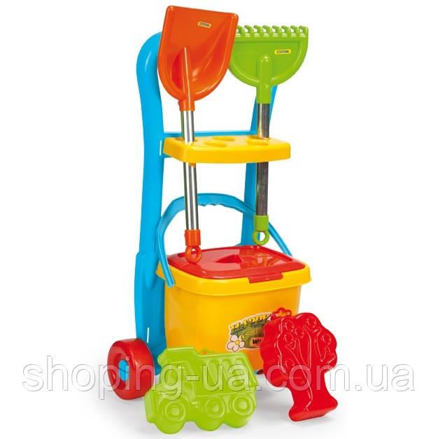 Игровой набор для песка с тележкой Wader 10971