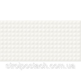 Плитка Opoczno Water Sparkles PULSE WHITE GLOSSY STRUCTURE