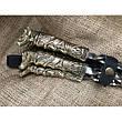 """Набор шампуров с бронзовой ручкой """"Пёс"""" в колчане из кожи, 6шт, фото 3"""