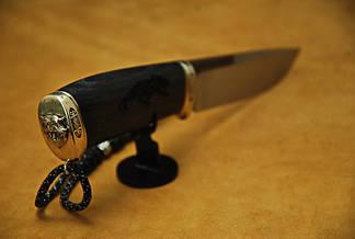 """Нож ручной работы """"Тигровый"""", N690, фото 2"""