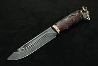 """Эксклюзивный нож ручной работы """"Ibex"""", дамасск"""