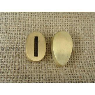 Бронзовый/мельхиоровый комплект для ножа № 40, фото 2