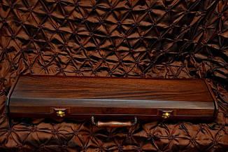 """Набор эксклюзивных шампуров """"Viking-2"""" (6шт, 3мм) в футляре из морёного вяза, фото 2"""