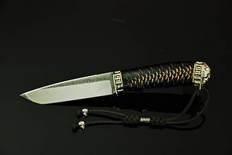 """Нож для охоты ручной работы """"Ghost rider11"""", N690, фото 2"""