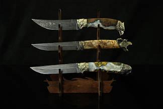 """Настольная подставка для ножей """"Тройная"""", фото 3"""