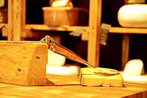 Красивый сырный нож ручной работы, фото 2