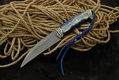 """Нож ручной работы """"Ворон"""", дамасск (наличие уточняйте)"""