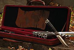 """Подарунковий набір шампурів з ножем, флягою, топірцем """"Пірат XXL"""", фото 3"""