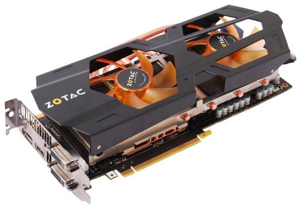 Видеокарта ZOTAC GeForce GTX670 2GB DDR5, 256 bit, ZT-60302-10P, PCI-E 3.0, фото 2