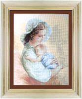 Набор для вышивания «Дама и младенец»