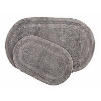 Набор ковриков Irya - Havana gri серый 70*120+50*80