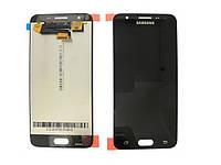 Дисплей для Samsung G570F Galaxy J5 Prime (2016) с тачскрином черный Оригинал