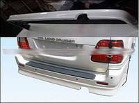 Накладки на задний бампер Тойота Ленд Крузер 100 (2003-2006) после рестайлинга