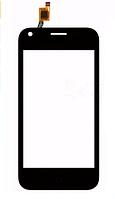 Тачскрин для ZTE L110 Blade, черный Оригинал (тестирован)